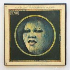 Discos de vinilo: BILLIE HOLIDAY – THE GOLDEN YEARS VOLUME II BOX 3 VINYLS USA COLUMBIA. Lote 268468649
