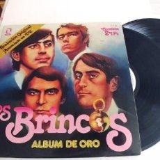 Discos de vinilo: LOS BRINCOS-LP DOBLE ALBUM DE ORO-BUEN ESTADO-GATEFOLD. Lote 268474184