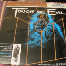 Dischi in vinile: LP TOUCH OF EVIL SED DE MAL HENRY MANCINI CHALLENGE 610 FRESH SOUND EDIC. SPAIN 1988 BSO. Lote 268591009