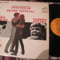 Dischi in vinile: LP TWO FOR THE ROAD HENRY MANCINI RCA 3802 USA 197??? BSO. Lote 268597119
