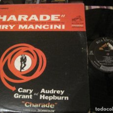 Dischi in vinile: LP CHARADE HENRY MANCINI RCA 2755 USA 196??? BSO. Lote 268597624