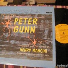 Dischi in vinile: LP PETER GUNN HENRY MANCINI RCA 2143 USA 1977 BSO. Lote 268598244