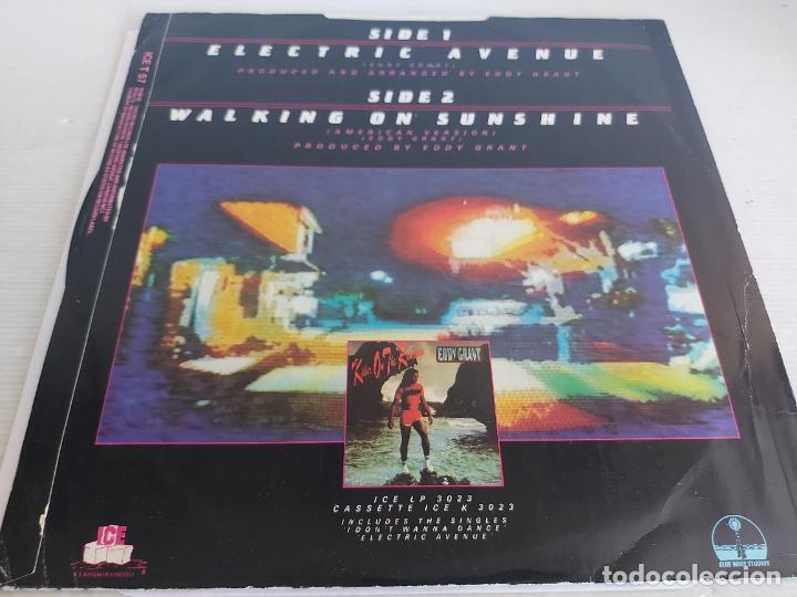 Discos de vinilo: EDDY GRANT / ELECTRIC AVENUE / MAXI SG-ICE-1982 / MBC. ***/*** - Foto 2 - 268606194