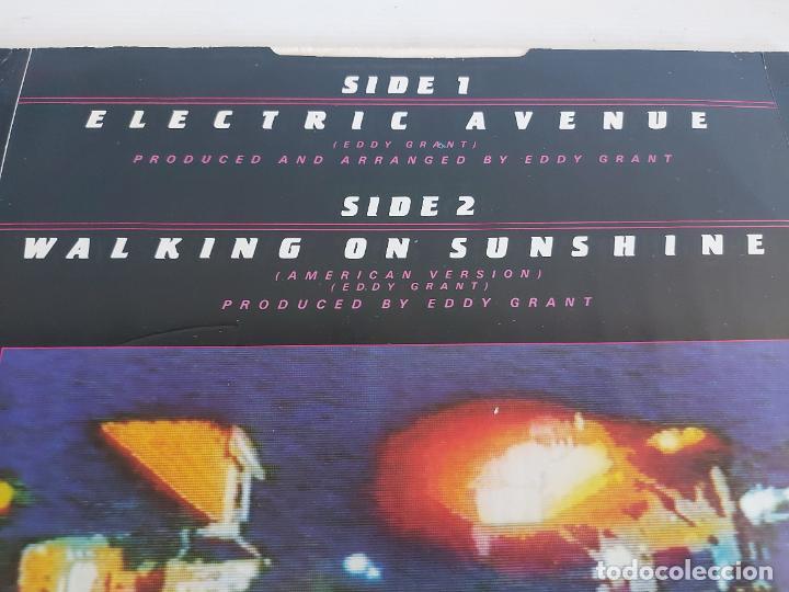 Discos de vinilo: EDDY GRANT / ELECTRIC AVENUE / MAXI SG-ICE-1982 / MBC. ***/*** - Foto 3 - 268606194