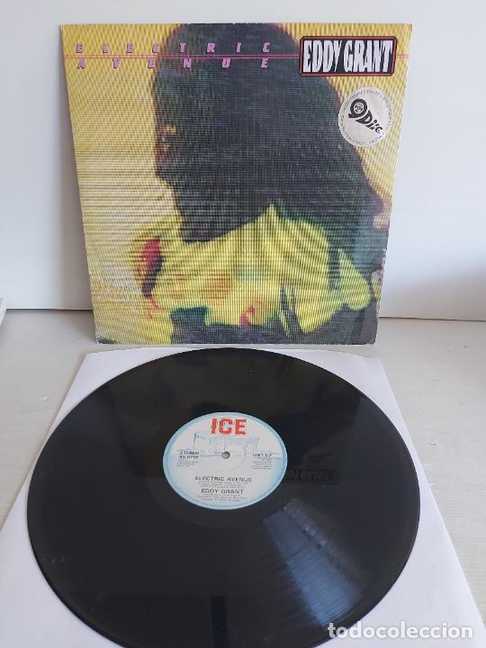 EDDY GRANT / ELECTRIC AVENUE / MAXI SG-ICE-1982 / MBC. ***/*** (Música - Discos de Vinilo - Maxi Singles - Reggae - Ska)