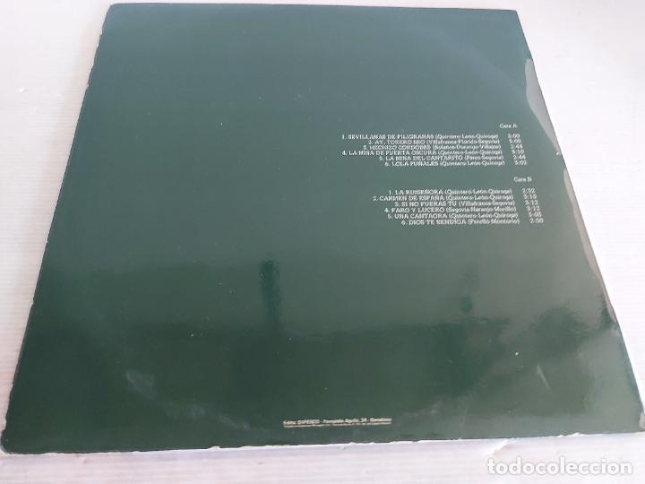 Discos de vinilo: IMPERIO DE TRIANA / SEVILLANAS DE FILIGRANAS / LP - ABANICO-1978 / MBC. ***/*** - Foto 2 - 268608339