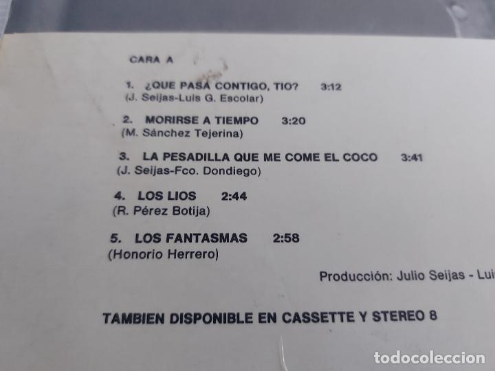 Discos de vinilo: LOS GOLFOS / ¿ QUÉ PASA CONTIGO TÍO ? / LP - RCA-VICTOR-1976 / MBC. ***/*** - Foto 3 - 268608784