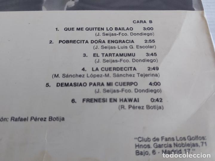 Discos de vinilo: LOS GOLFOS / ¿ QUÉ PASA CONTIGO TÍO ? / LP - RCA-VICTOR-1976 / MBC. ***/*** - Foto 4 - 268608784