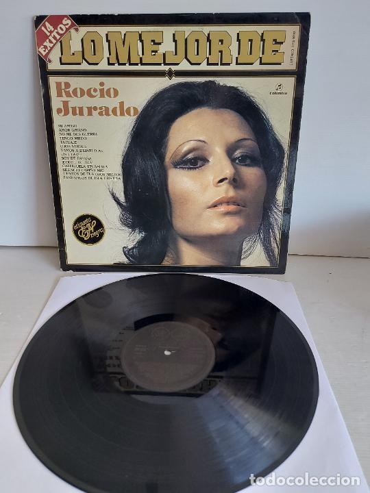 LO MEJOR DE ROCÍO JURADO / LP-COLUMBIA ETIQUETA NEGRA-1983 / MBC. ***/*** (Música - Discos - LP Vinilo - Flamenco, Canción española y Cuplé)