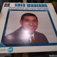 Discos de vinilo: DISCO VINILO LP LUIS MARIANO SERIE AZUL. 1969. PARÍS TE AMO.. Lote 268614434