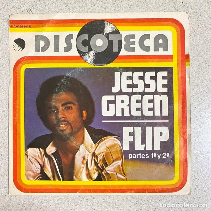 DISCO VINILO MAXI 45 R.P.M 'JESSE GREEN' FLIP DISCOTECA (Música - Discos - Singles Vinilo - Disco y Dance)