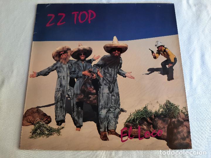 ZZ TOP -EL LOCO- DISCO VINILO LP (Música - Discos - LP Vinilo - Pop - Rock - New Wave Internacional de los 80)