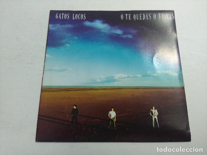 SINGLE/GATOS LOCOS/O TE QUEDAS O TE VAS. (Música - Discos - Singles Vinilo - Grupos Españoles de los 70 y 80)