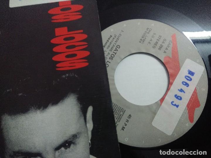 Discos de vinilo: SINGLE/GATOS LOCOS/CUENTAME ALGO MAS DE TI. - Foto 2 - 268718229