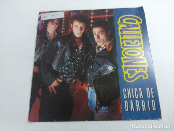 SINGLE/CALLEJONES/CHICA DE BARRIO. (Música - Discos - Singles Vinilo - Grupos Españoles de los 70 y 80)