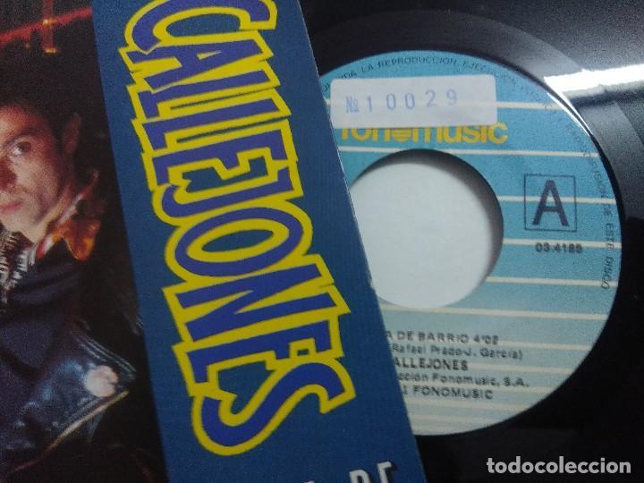Discos de vinilo: SINGLE/CALLEJONES/CHICA DE BARRIO. - Foto 2 - 268718324
