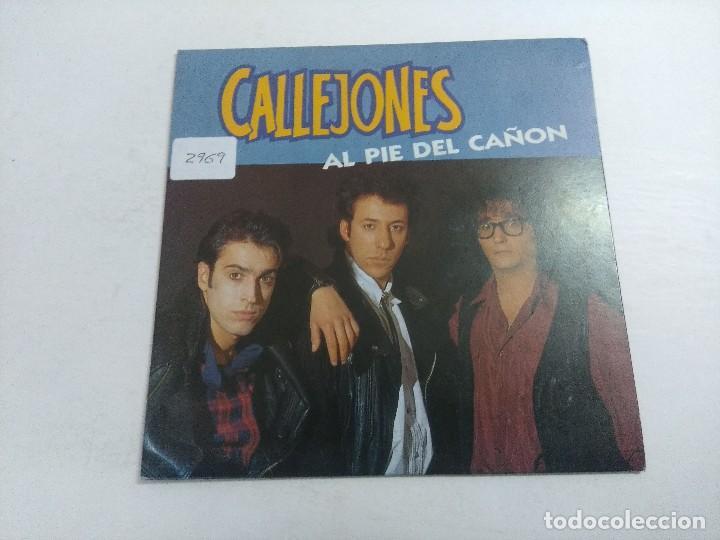 SINGLE/CALLEJONES/AL PIE DEL CAÑON. (Música - Discos - Singles Vinilo - Grupos Españoles de los 70 y 80)