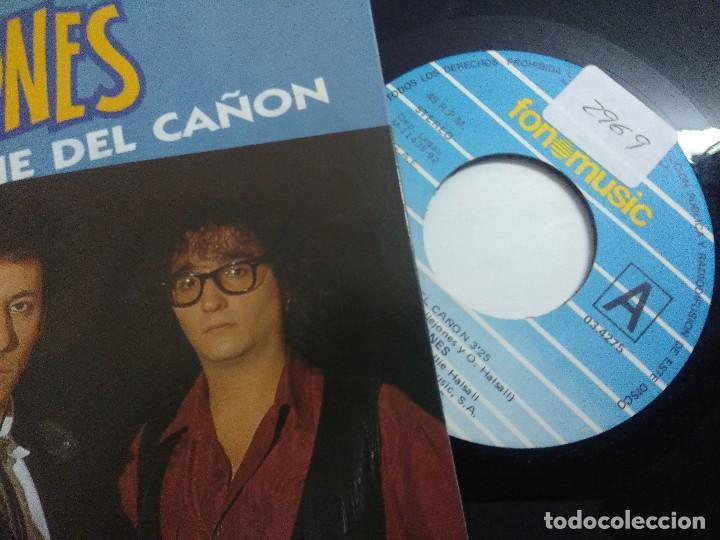 Discos de vinilo: SINGLE/CALLEJONES/AL PIE DEL CAÑON. - Foto 2 - 268718384