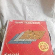 Discos de vinilo: LP MAXI SINGLE RHEINGOLD. Lote 268726544