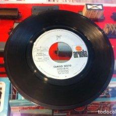 Discos de vinilo: SINGLE - EP. DISCO SIN CARÁTULA. CAMILO SESTO. YO SOY ASÍ. ALGO DE MI. 1972. Lote 268732314