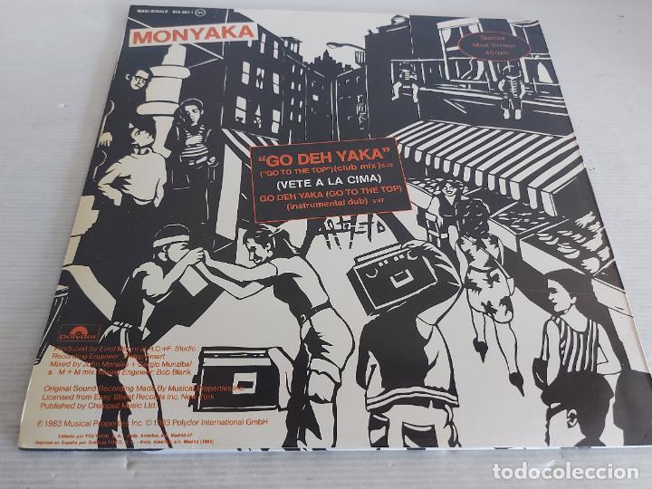 Discos de vinilo: MONYAKA / GO DEH YAKA / MAXI SG - POLYDOR-1983 / MBC. ***/*** - Foto 2 - 268733079