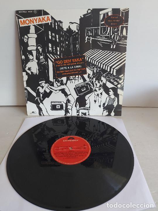 MONYAKA / GO DEH YAKA / MAXI SG - POLYDOR-1983 / MBC. ***/*** (Música - Discos de Vinilo - Maxi Singles - Reggae - Ska)