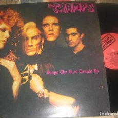 Discos de vinilo: THE CRAMPS SONGS THE LORD TAUGHT US ( ILEGAL RECORDS 1980) OG ENGLAND. Lote 268733124