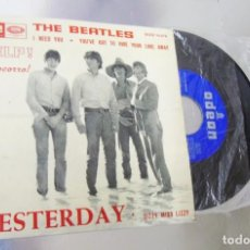 Discos de vinilo: THE BEATLES --YESTERDAY & I NEED YOU + 2 -- VINILO NEAR MINT ( NM OR M ) FUNDA VG +. Lote 268735649