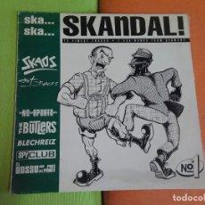 Disques de vinyle: LP , SKANDAL, VARIOS GRUPOS SKA REAGGE , VER FOTOS. Lote 268738569