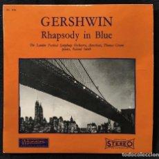 Discos de vinilo: GERSHWIN - RHAPSODY IN BLUE. Lote 268739369
