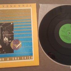 Discos de vinilo: DULCE VENGANZA MAXI SINGLE QUIERO MATAR A UNA CHICA Y DOS MÁS 1983. Lote 268739869