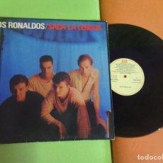 Discos de vinilo: LP , LOS RONALDOS , SACA LA LENGUA, EMI, VER FOTOS. Lote 268739984