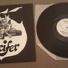 Discos de vinilo: LUCIFER MAXI SINGLE MOMENTS IN LOVE (DOS VERSIONES) VANGUARDIA DISCOS. Lote 268740264