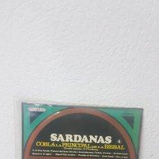 Discos de vinilo: SARDANAS 4 - COBLA LA PRINCIPAL DE LA BISBAL. Lote 268740529