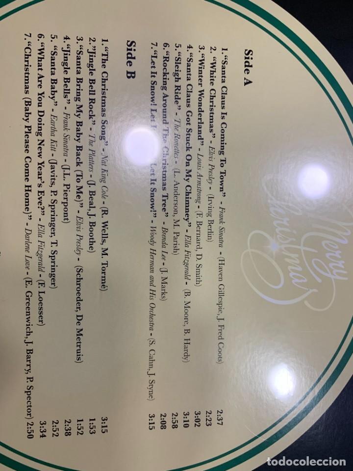Discos de vinilo: MERRY CHRISTMAS LP VARIOS ARTISTAS CANCIONES NAVIDAD NUEVO PRECINTADO - Foto 2 - 268741844