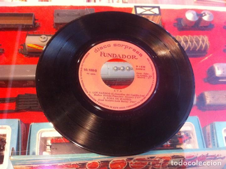 SINGLE - EP. SIN CARÁTULA. DISCO SORPRESA FUNDADOR. EVA. 1969 (Música - Discos - Singles Vinilo - Otros estilos)