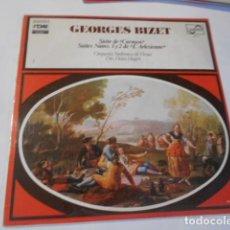 Discos de vinilo: LP-GEORGES BIZET-SUITE DE-CAMERN--NUEVO PRECINTADO. Lote 268743394