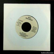 Discos de vinilo: BVSMP - I NEED YOU - SINGLE PROMOCIONAL 1988 - BOY RECORDS. Lote 268743564