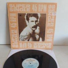 Discos de vinilo: PAUL PARKER / RIGHT ON TARGET / MAXI SG - HISPAVOX-1982 / MBC. ***/***. Lote 268744149
