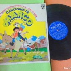 Discos de vinilo: LP , CANCIONES DE MARCO - DE LOS APENINOS A LOS ANDES - 1977, VER FOTOS. Lote 268744404