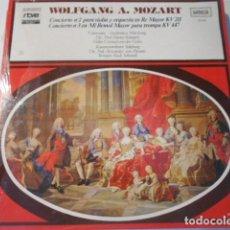 Discos de vinilo: LP-WOLFGANG A. MOZART--CONCIERTO Nº 2--CONCIERTO Nº 3 ---NUEVO PRECINTADO. Lote 268747164
