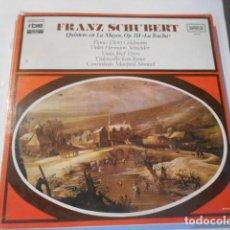 Discos de vinilo: LP-FRANZ SCHUBERT-QUINTETO LA MAYOR---NUEVO PRECINTADO. Lote 268748264