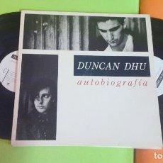 Discos de vinilo: LP , DOBLE LP, DUNCAN DHU, AUTOBIOGRAFÍA, 1989 , VER FOTOS. Lote 268748889