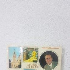Discos de vinilo: MANOLO ESCOBAR SEVILLANAS BELTER. Lote 268749129