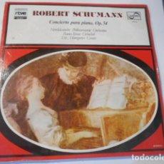 Discos de vinilo: LP---ROBERT SCHUMANN--CONCIERTO PARA PIANO-OP. 54---NUEVO PRECINTADO. Lote 268749164