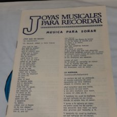 Discos de vinilo: JOYAS MUSICALES PARA RECORDAR 1981 3 LPS BUENOS ESTADO Y LIBRETO LETRAS. Lote 268749369
