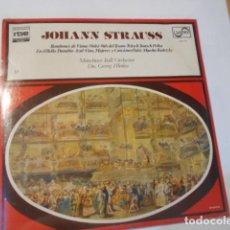 Discos de vinilo: LP---JOHANN STRAUSS-VALS BOMBONES DE VIENA....----NUEVO PRECINTADO. Lote 268751279