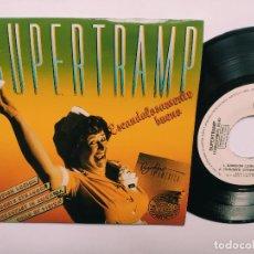 Discos de vinilo: SUPERTRAMP - EP SPAIN PS - MINT * PROMO WL * CANCION LOGICA ( THE LOGICAL SONG ) + 3 * 1979. Lote 268757024