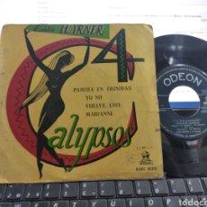 Discos de vinilo: EDDIE WARNER EP 4 CALYPSOS ESCUCHADO ESPAÑA. Lote 268758174