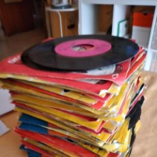 Discos de vinilo: M- LOTE DE 95 DISCOS DE VINILO 7 PULGADAS DISCO SORPRESA FUNDADOR. Lote 268759104